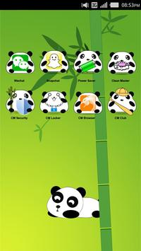 Panda CM Launcher Theme apk screenshot
