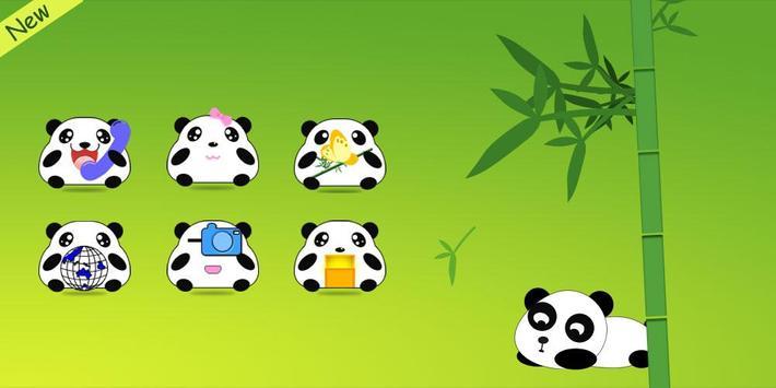 Panda CM Launcher Theme poster