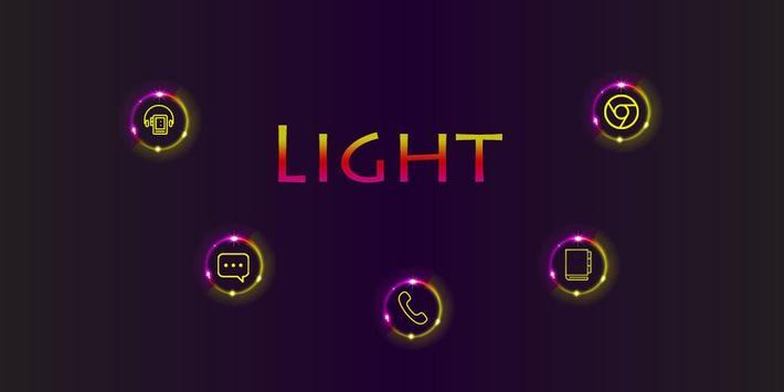 Light Background poster