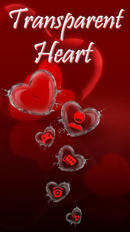 Red Love Heart Theme for Android - APK Download