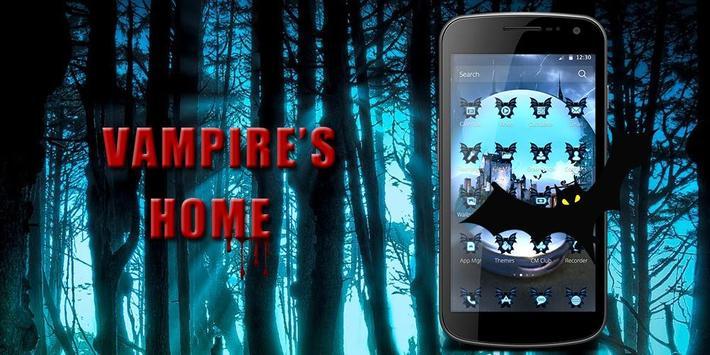 Vampire's Home Theme apk screenshot