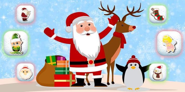 Santa Claus Christmas Theme poster