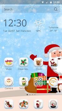 Santa Claus Christmas Theme apk screenshot