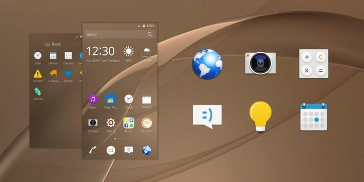 Theme for Xperia Z4 poster
