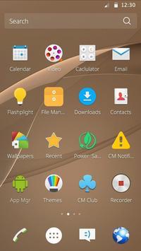 Theme for Xperia Z4 apk screenshot