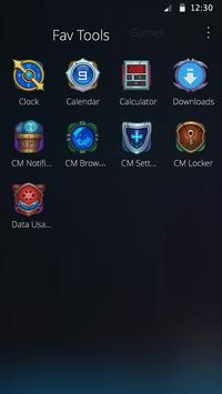 King Back Theme apk screenshot