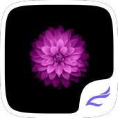 Purple Flower Theme icon