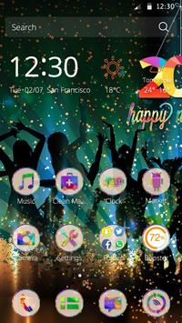 Happy New Year Theme apk screenshot