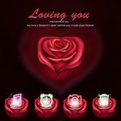 Loving you Valentine Theme icon