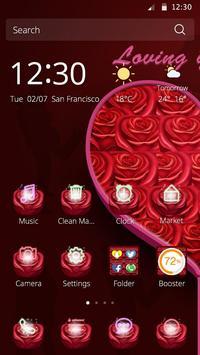 Loving you Valentine Theme poster