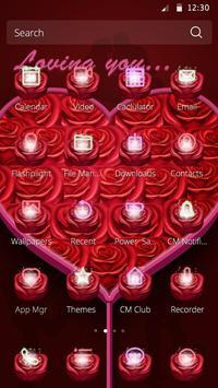 Loving you Valentine Theme screenshot 1