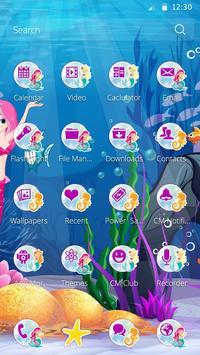 Happy Mermaid Theme apk screenshot