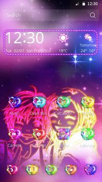 Love Fire Theme apk screenshot