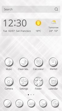 Pure Peace CM Launcher Theme apk screenshot