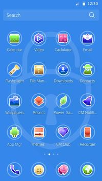 Locker CM Launcher theme screenshot 2