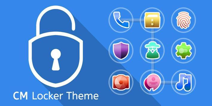 Locker CM Launcher theme screenshot 4