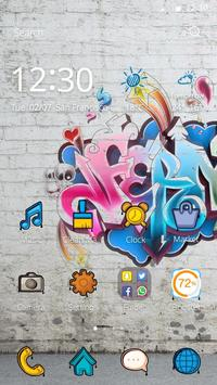 Graffiti Art Theme poster