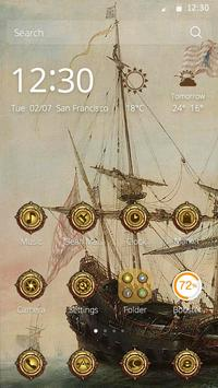 Columbus Ship Theme screenshot 1