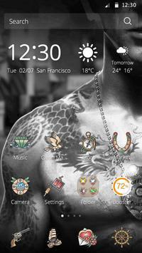 Tattoo Theme apk screenshot