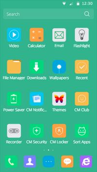 CM Launcher-Eye protect style apk screenshot