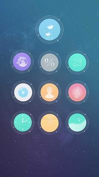 CM launcher-Phantom style apk screenshot