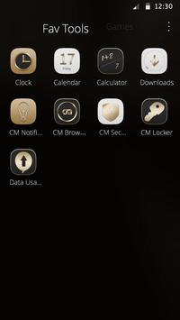 Gold Style Theme screenshot 2