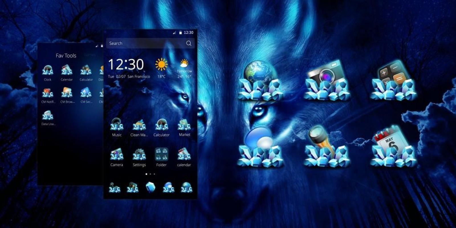 Unduh Wallpaper Pubg Hd Apk Versi Terbaru Aplikasi Untuk: Free Serigala Malam Tema APK Download