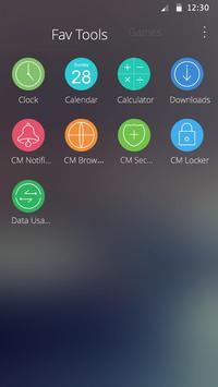 Circle Theme screenshot 2