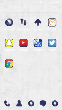 CM launcher-Ink painting style apk screenshot