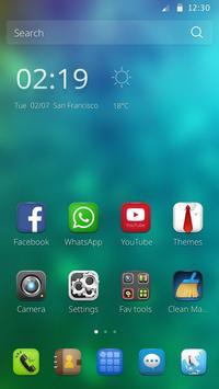 Blue Butterfly Theme screenshot 1