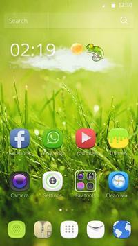 Green Nature Theme apk screenshot