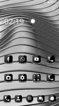 Metallic Theme apk screenshot