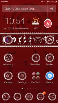 Warli Art Theme apk screenshot