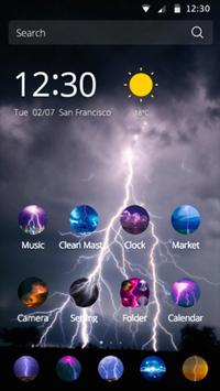 Huawei mate8 Lightning Theme apk screenshot