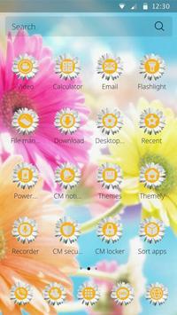 Blossom Daisy Theme Sunflower apk screenshot