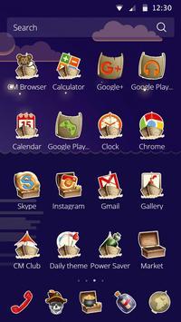 Funny Pirate Launcher Theme apk screenshot
