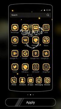 Gold Football Theme Diamond screenshot 1