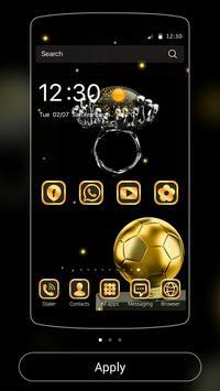 Gold Football Theme Diamond screenshot 2