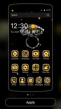 Gold Football Theme Diamond screenshot 4