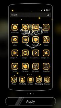 Gold Football Theme Diamond screenshot 5