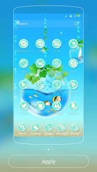 Blue Water Theme Aquarium screenshot 6