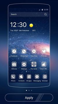 Galaxy Theme Universe screenshot 3