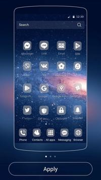 Galaxy Theme Universe screenshot 1
