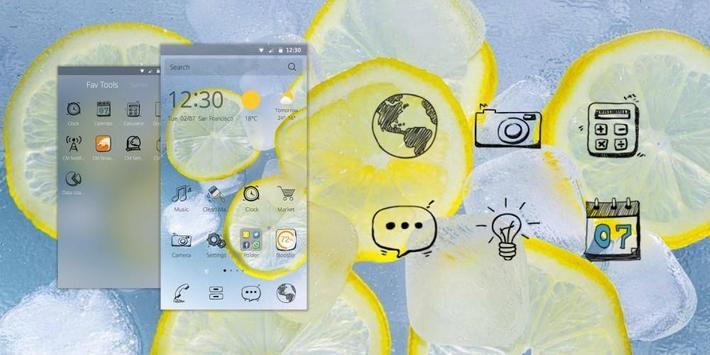 Yummy DIY Theme apk screenshot