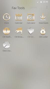 Simple White DIY Theme apk screenshot