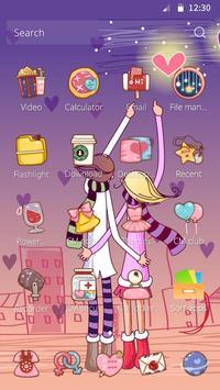 Love You Forever DIY Theme apk screenshot
