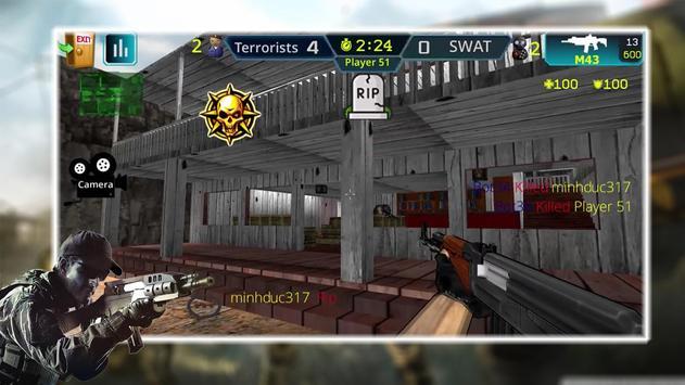 Sniper Attack Team Cover3D poster