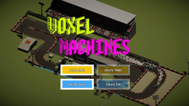 Voxel Machines poster