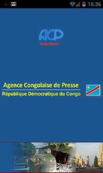 Agence Congolaise de Presse poster