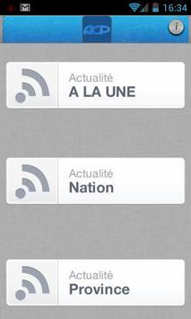 Agence Congolaise de Presse apk screenshot